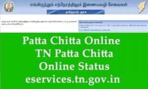 Chitta Patta Status Check