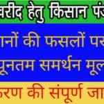UP Dhan Khared Kisan Registration, धान खरीद हेतु किसान रजिस्ट्रेशन