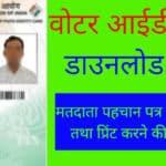 Voter Id Card Kaise Download Kare/ वोटर आईडी कैसे डाउनलोड करें
