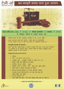 Role of CSC Vle in Tele Law