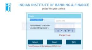 iibf exam admit card