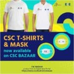 CSC T-SHIRTS AND MASKS AVAILABLE ON CSC BAZAAR