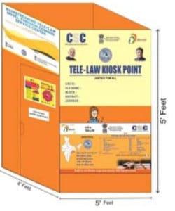 Tele-Law Kiosk In Odisha