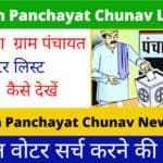 UP Gram Panchayat Chunav List 2021