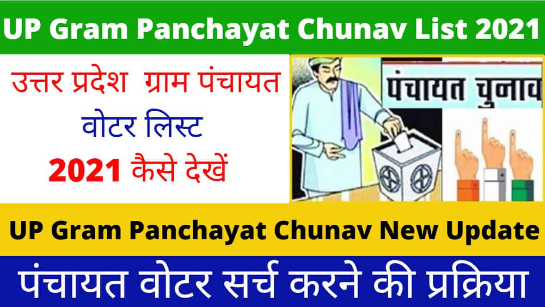 UP Gram Panchayat Chunav List 2021