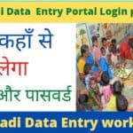 aaganwari data intry work kese karen