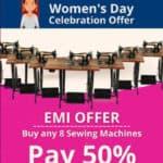 Women's Day Celebration Offer