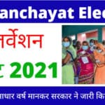 UP Panchayat Election Reservation List 2021 New Update