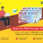apply For Pan through CSC