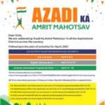 Celebrate 'Azadi Ka Amrit Mahotsav'