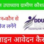 Dindayal Upadhyay Gramin Yojana Apply