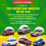 Tata Motor Four Wheelers On CSC ReM