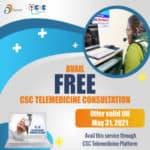 Free CSC Tele-Medicine Consultation Service