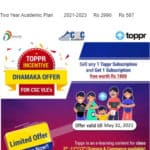 Topper Incentive Dhamaka Offer-Season 2