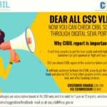 Check Cibil Score Through Digital Seva Portal