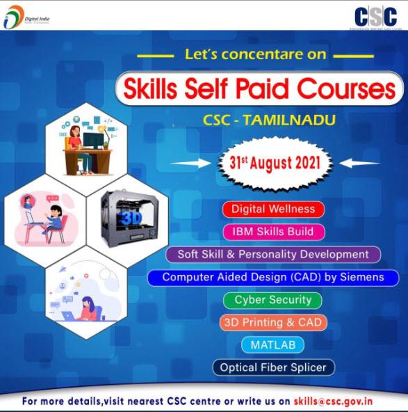 Skills Self Paid Courses