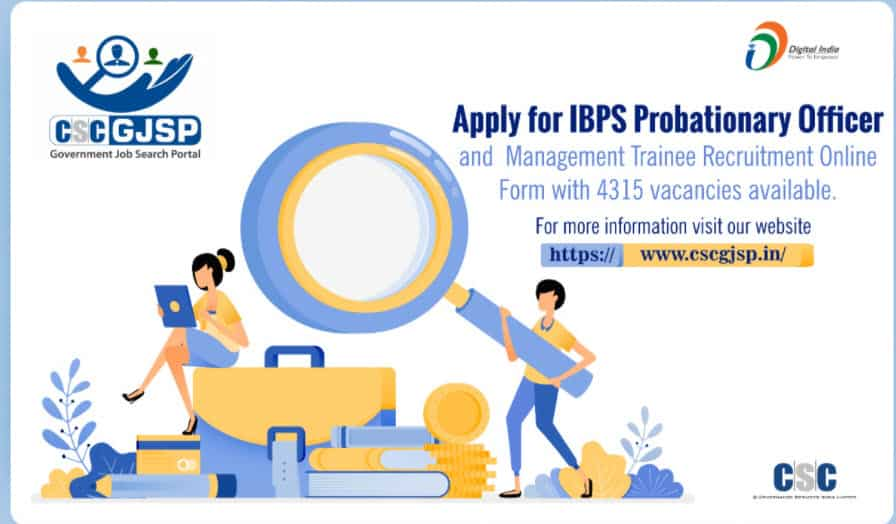 Apply For IBPS Probationary Officer